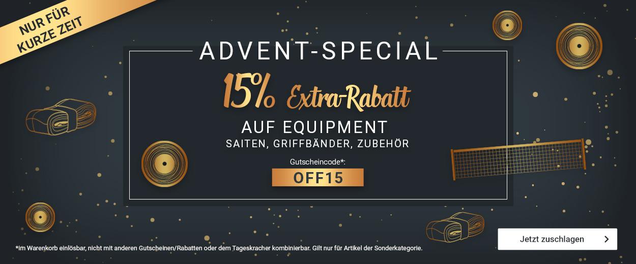 Equipment -15%