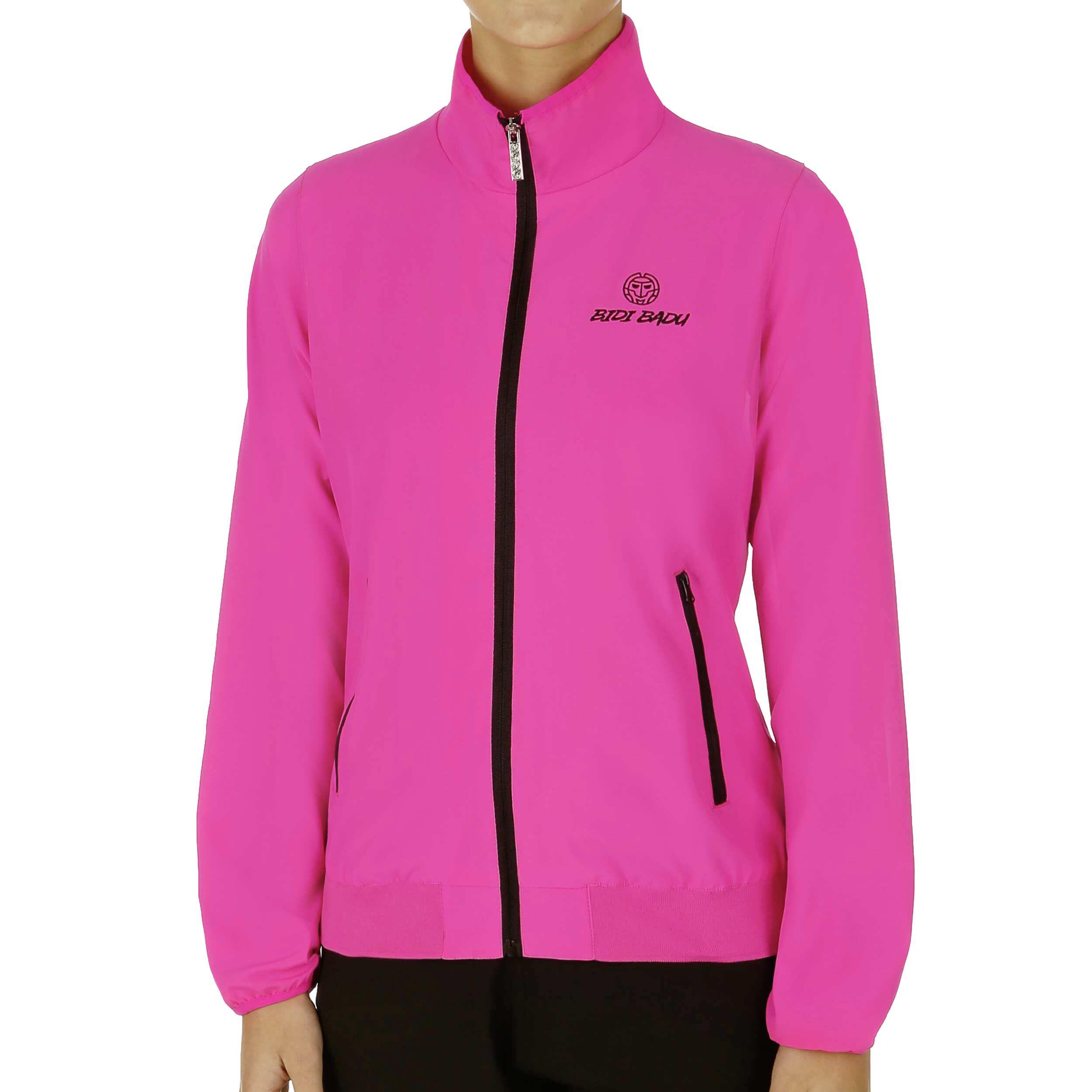 BIDI BADU Liza Tech Trainingsjacke Damen Pink, Schwarz