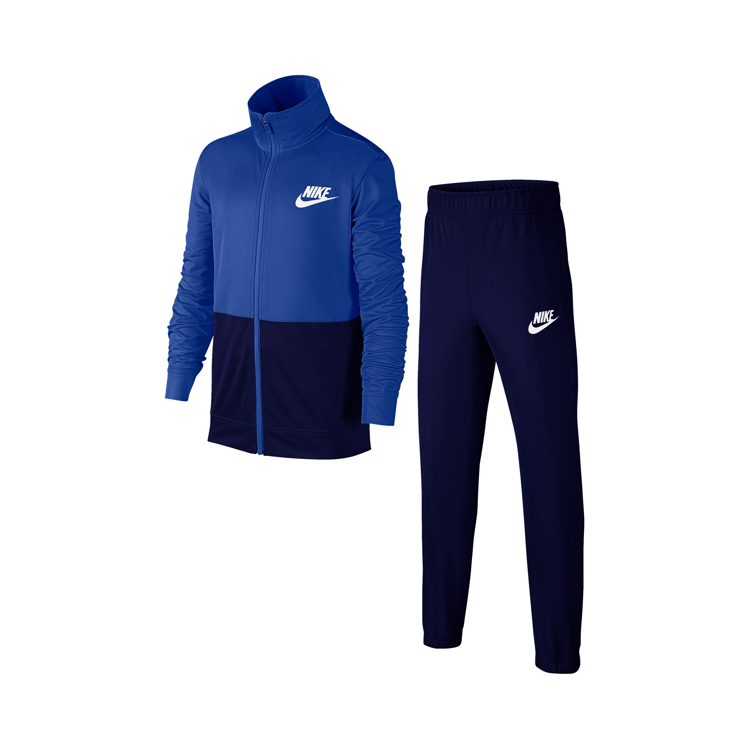 Nike Sportswear Trainingsanzug Jungen Blau, Schwarz