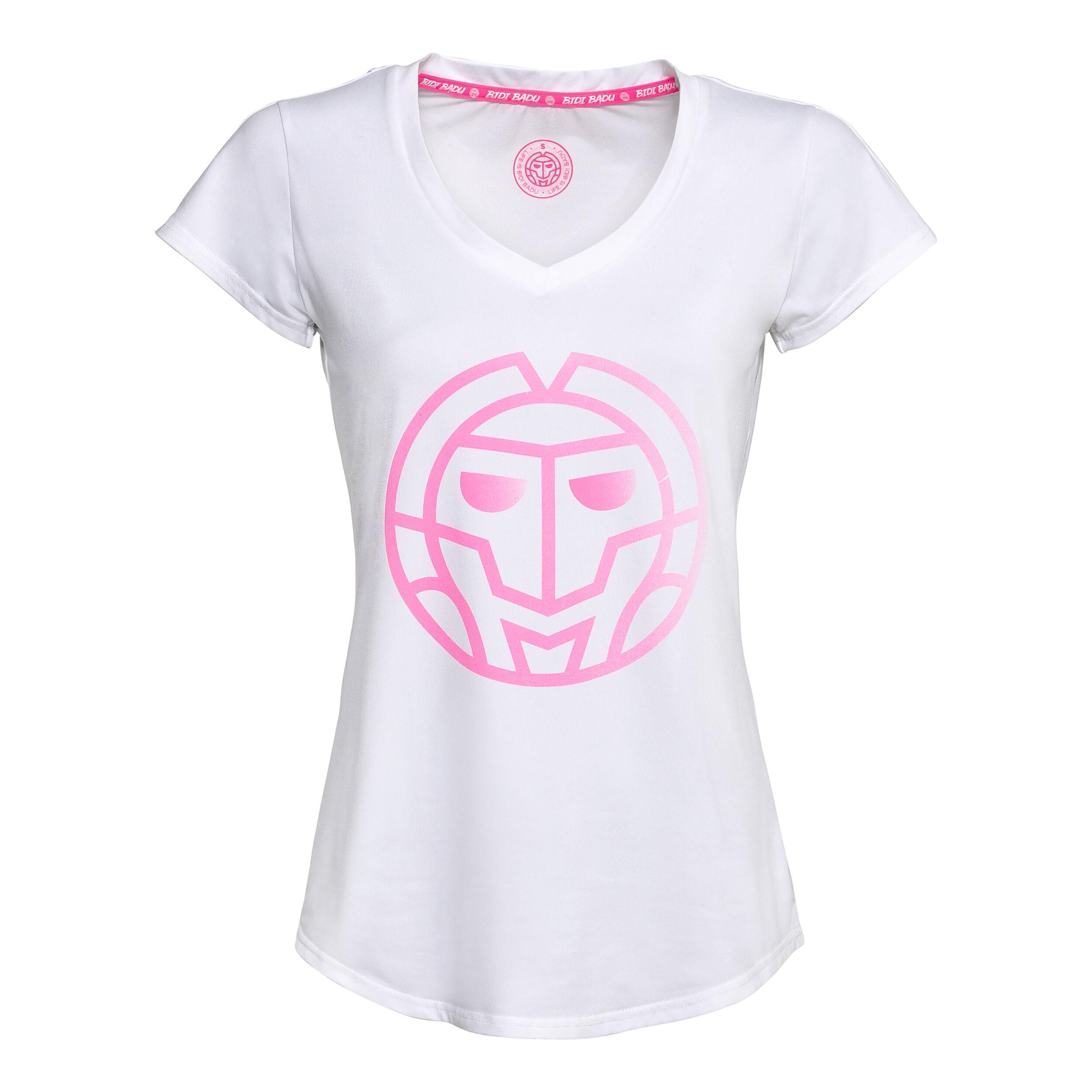 BIDI BADU Herren Ötv Limited Kollektion Will Logo Tee  T-Shirt weiß NEU