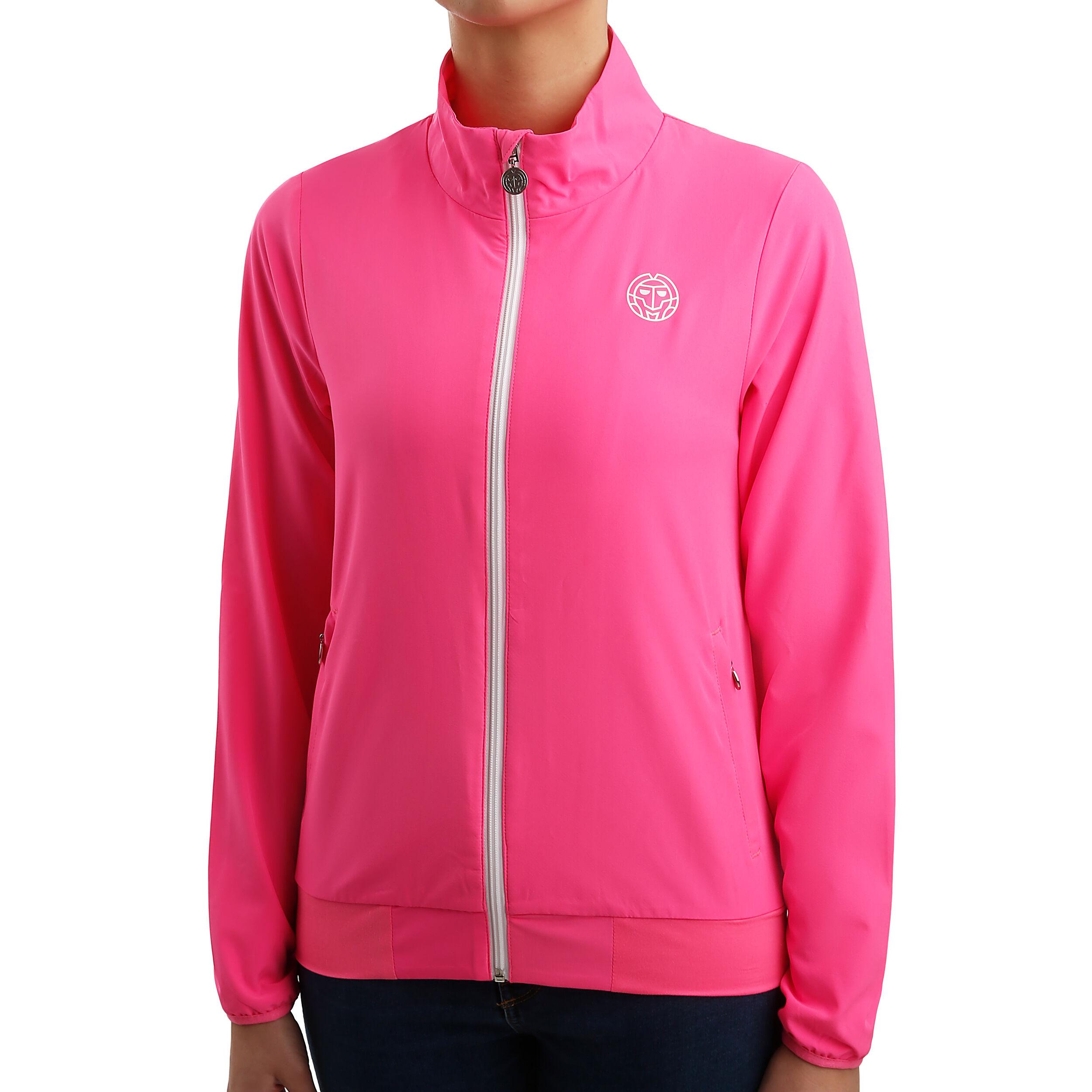 BIDI BADU Gene Tech Trainingsjacke Damen Pink, Weiß online