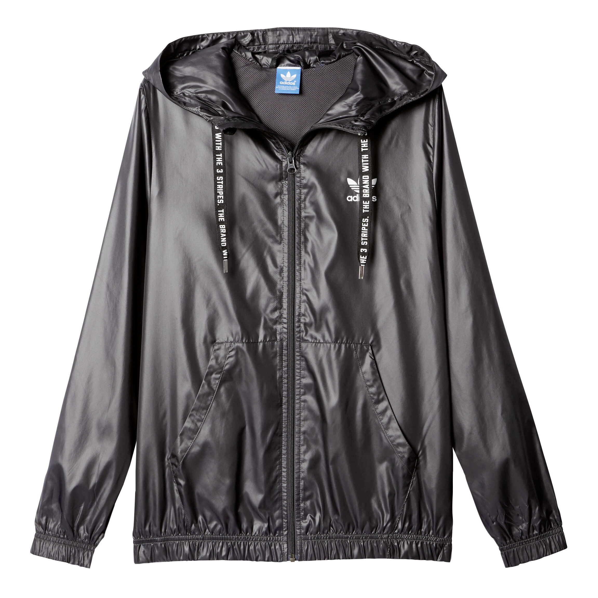 adidas Originals Windbreaker Trainingsjacke Damen Schwarz