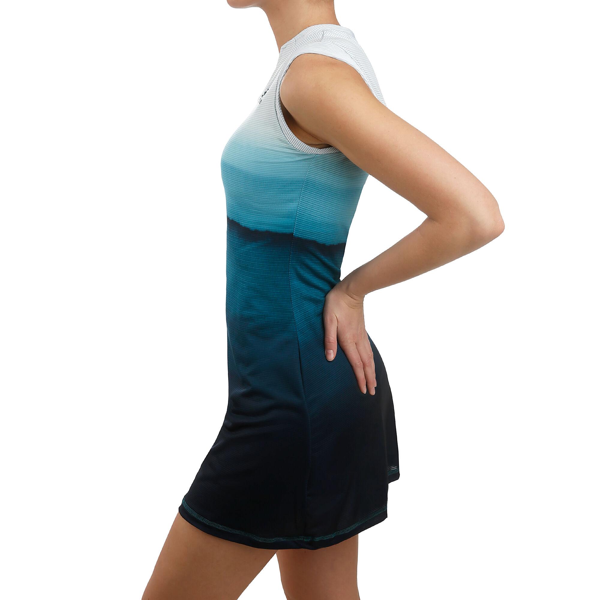 adidas Parley Kleid Damen - Weiß, Dunkelblau online kaufen ...