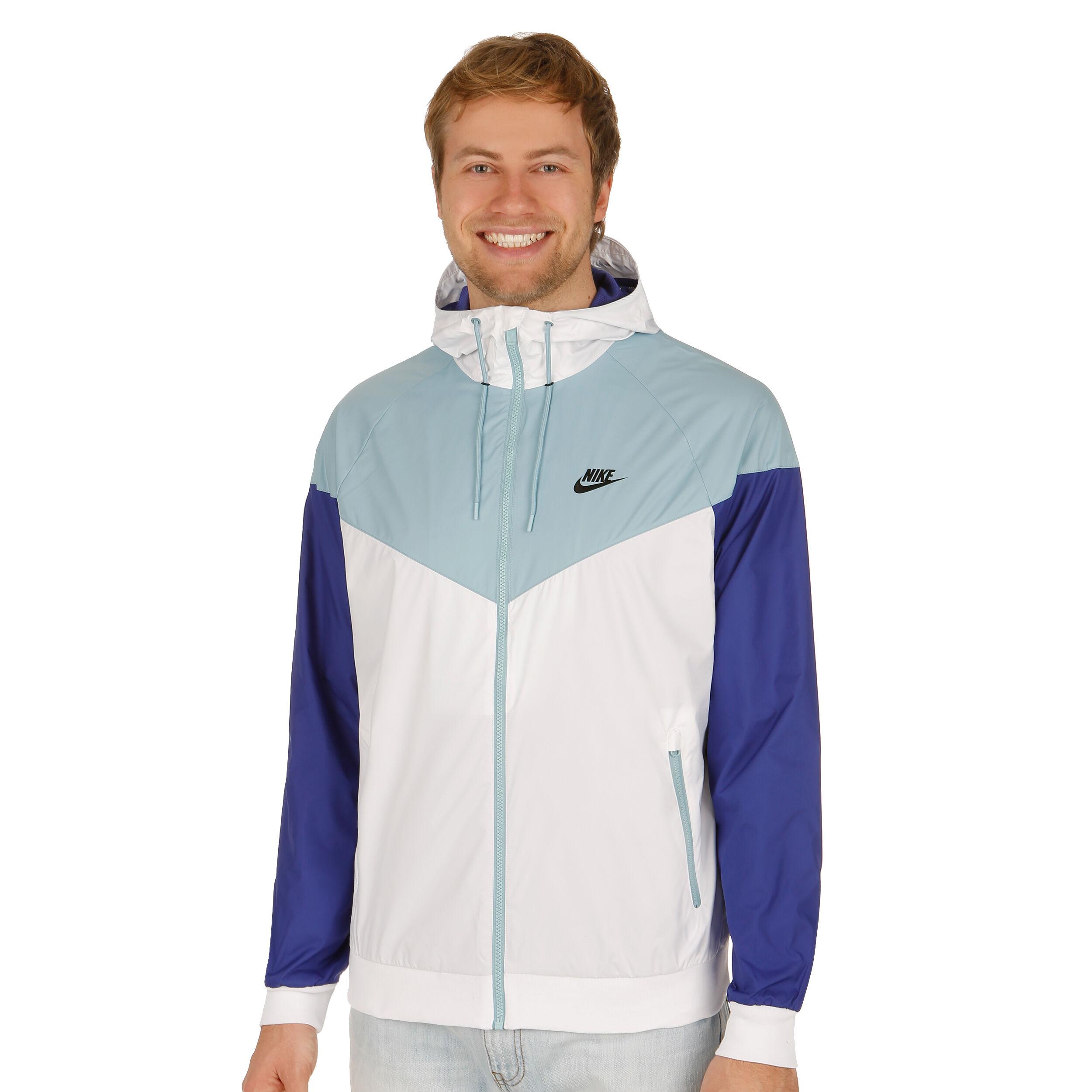 Nike Sportswear Windrunner Trainingsjacke Herren Weiß
