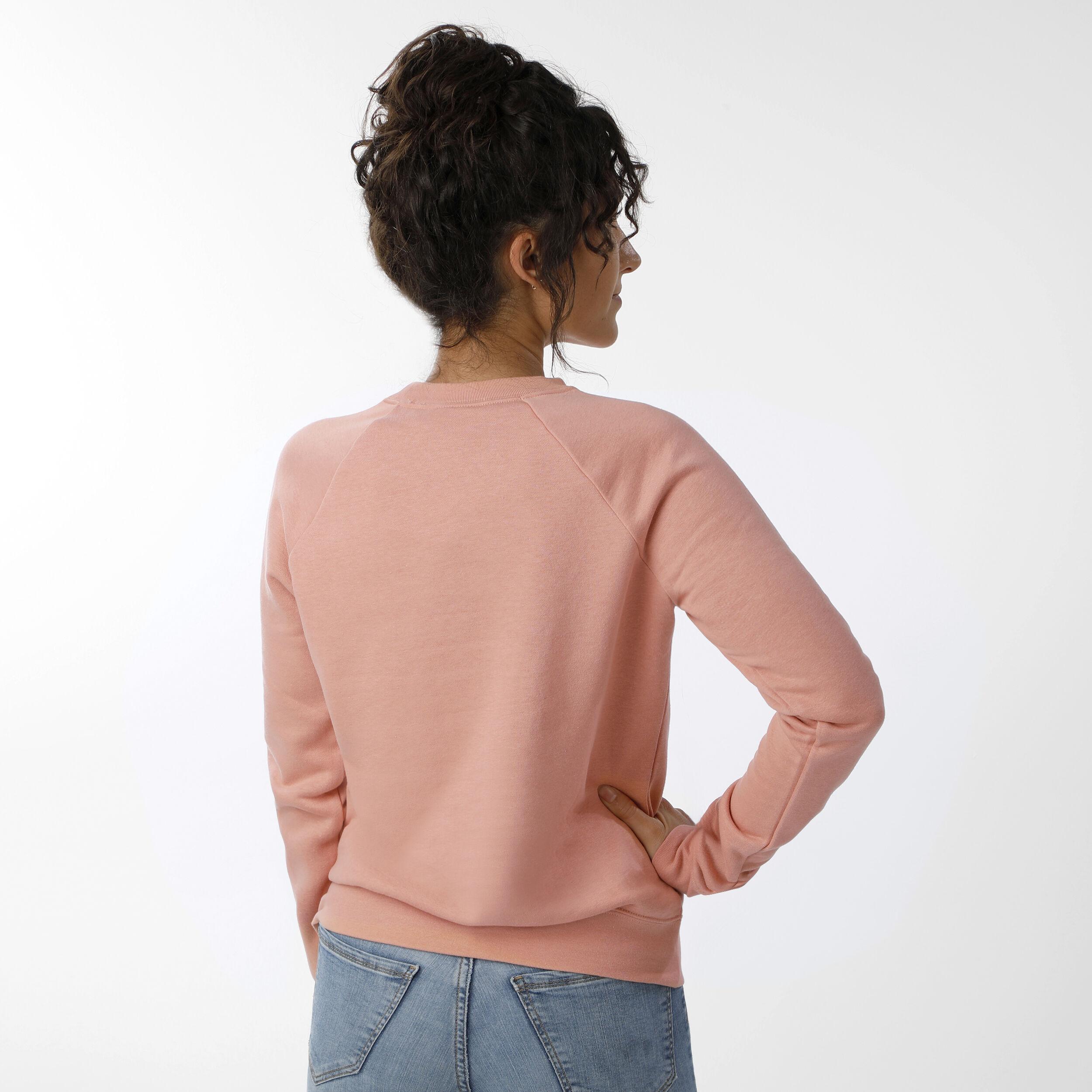 Nike Sportswear Essential Crew Sweatshirt Damen Apricot