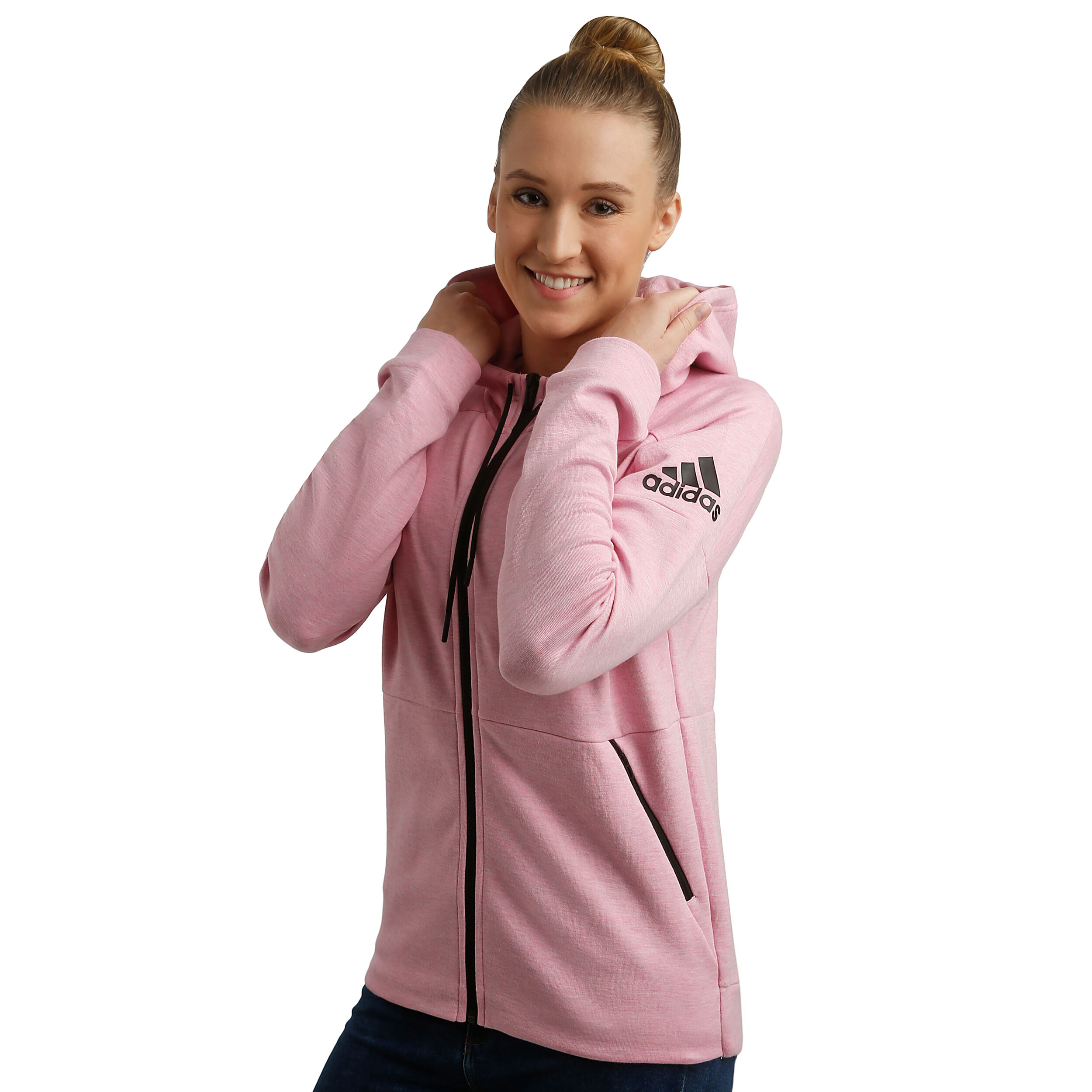 Adidas Stadium ID Sweatjacke Damen true pink im Online Shop