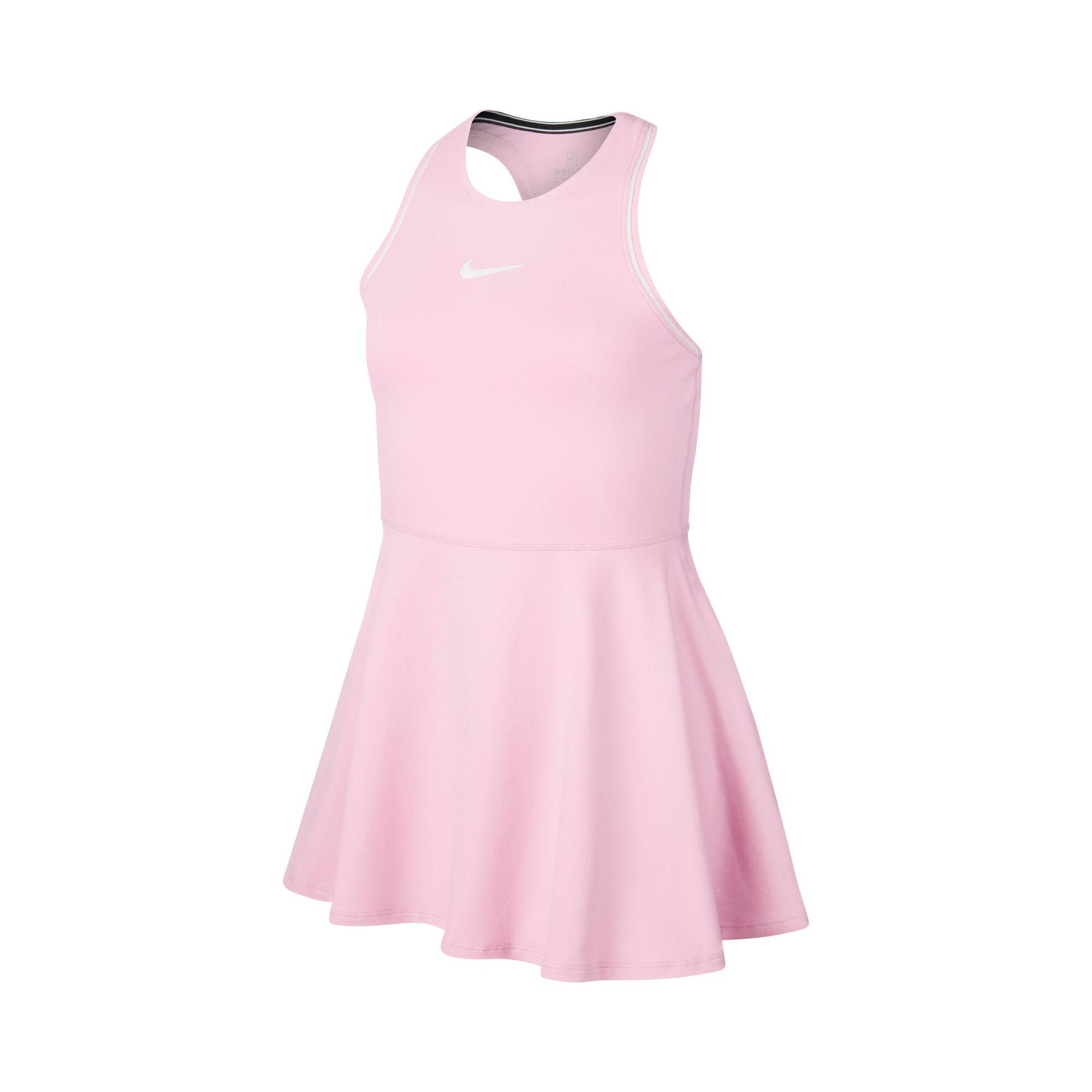 Nike Court Dry Kleid Mädchen - Rosa, Weiß online kaufen ...