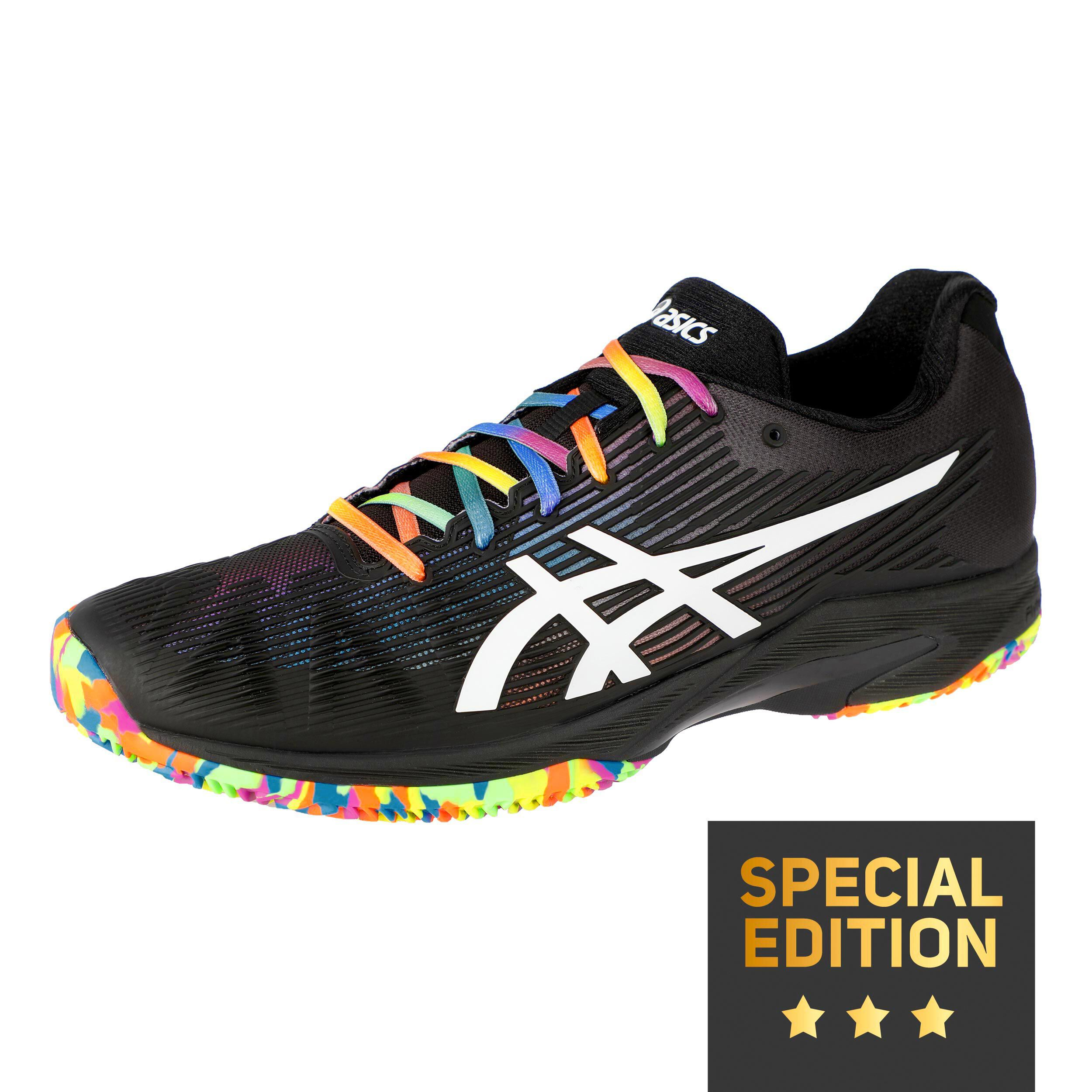 Solution Speed FF Clay Sandplatzschuh Special Edition Herren - Schwarz...