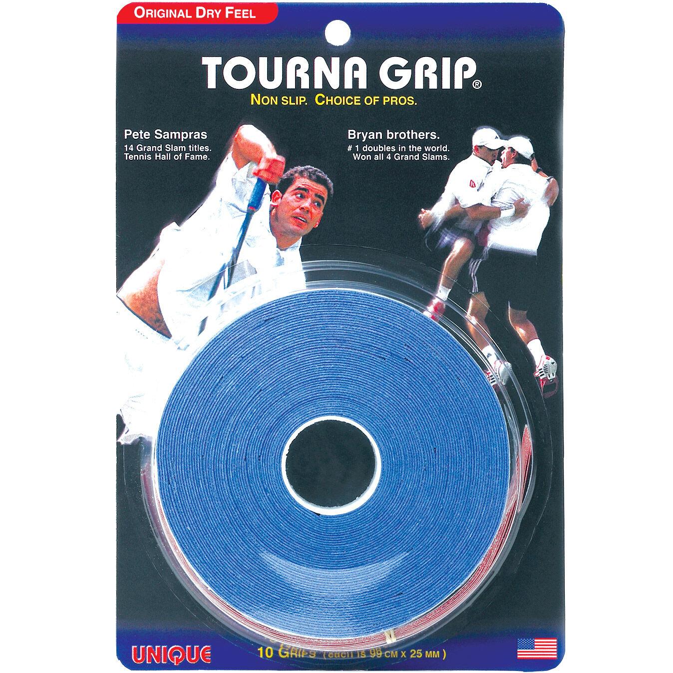 Tourna Grip Standard 10er Pack Blau