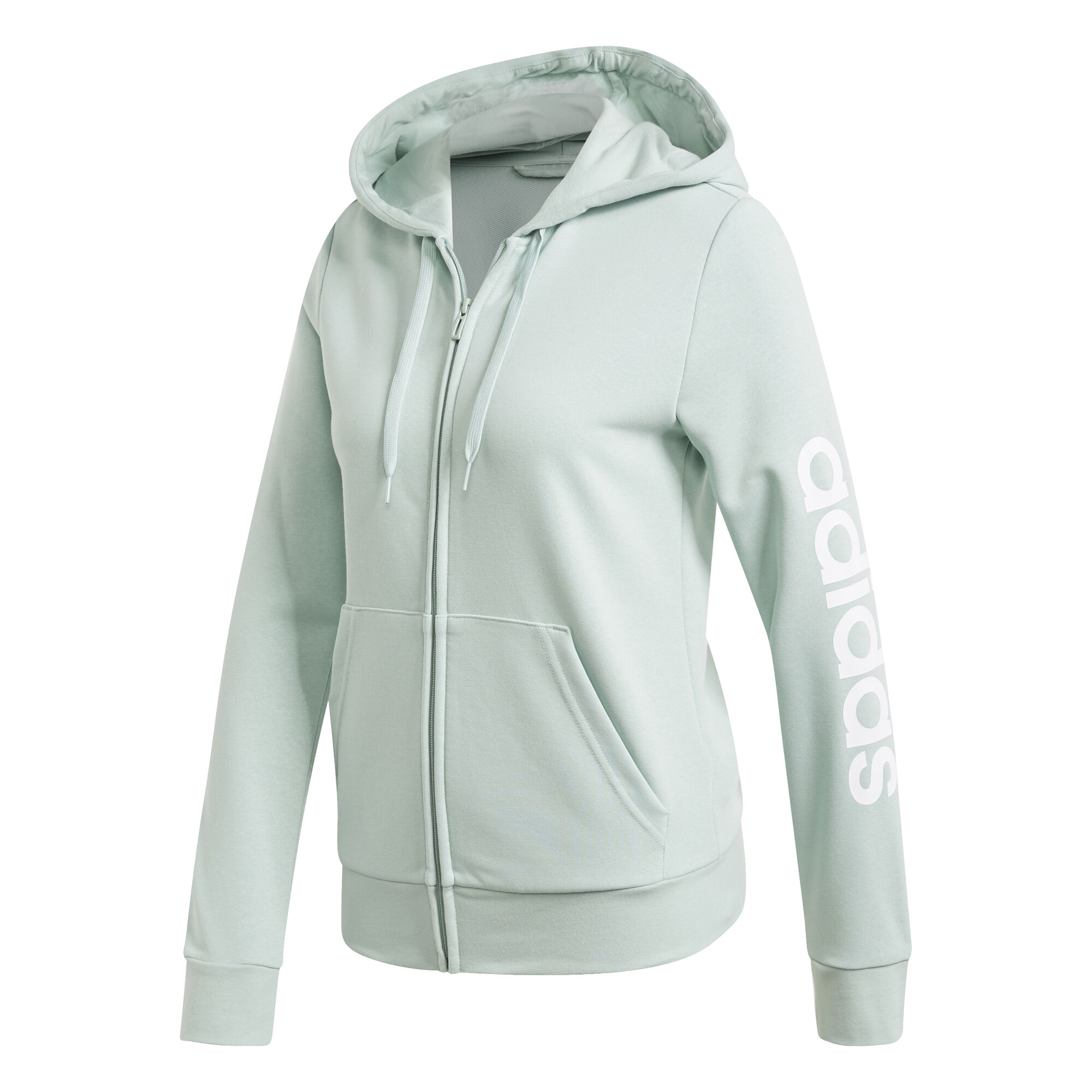 adidas Essentials Sweatjacke Damen Mint, Weiß online