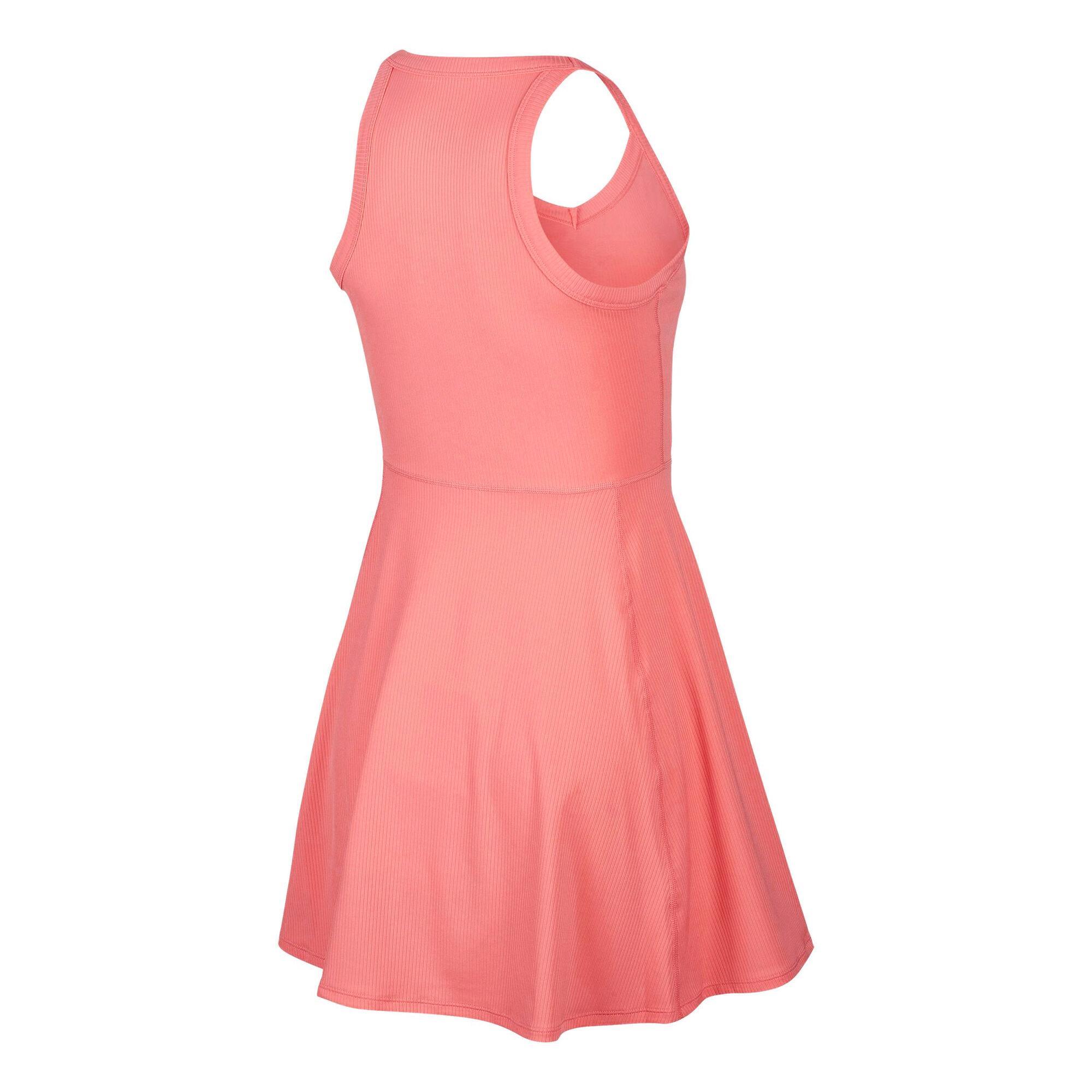 Nike Court Dry Kleid Damen - Koralle, Weiß online kaufen ...