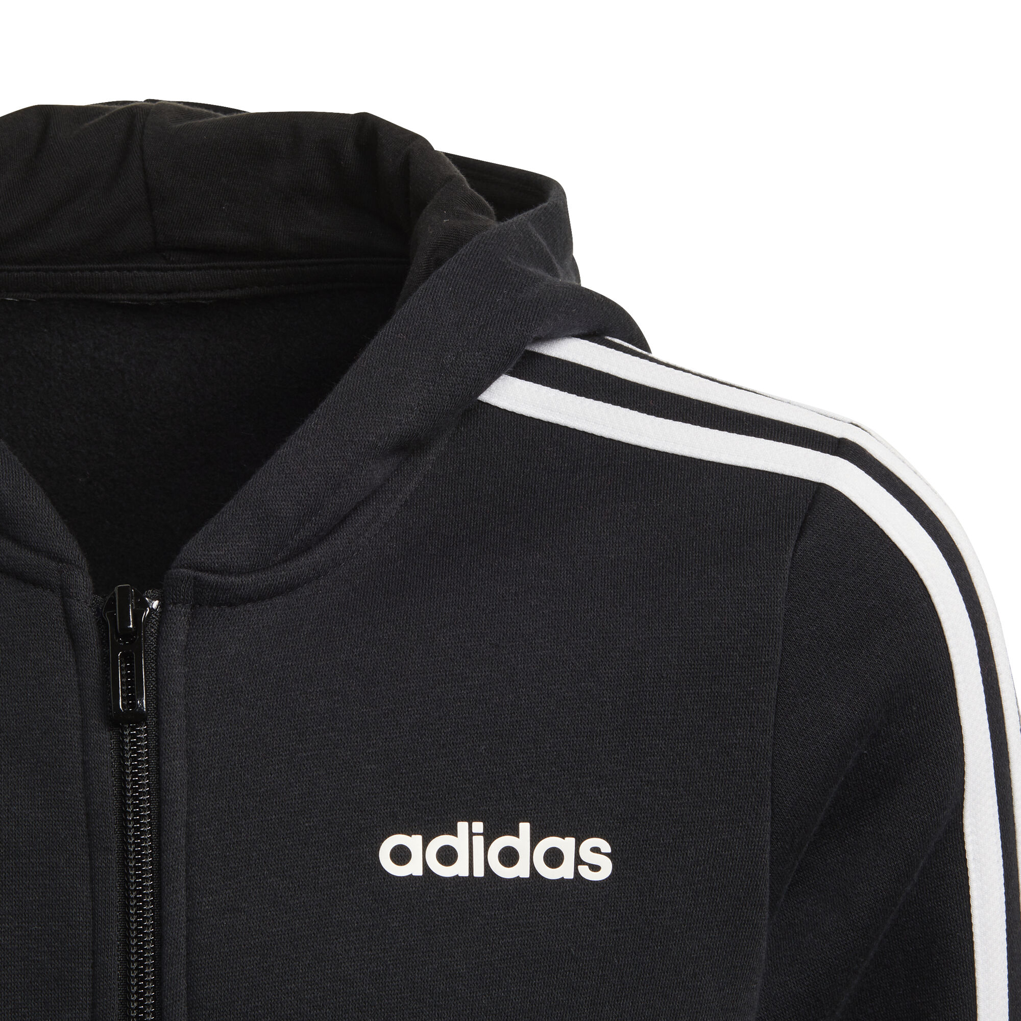 adidas Essentials 3 Stripes Full Zip Sweatjacke Mädchen