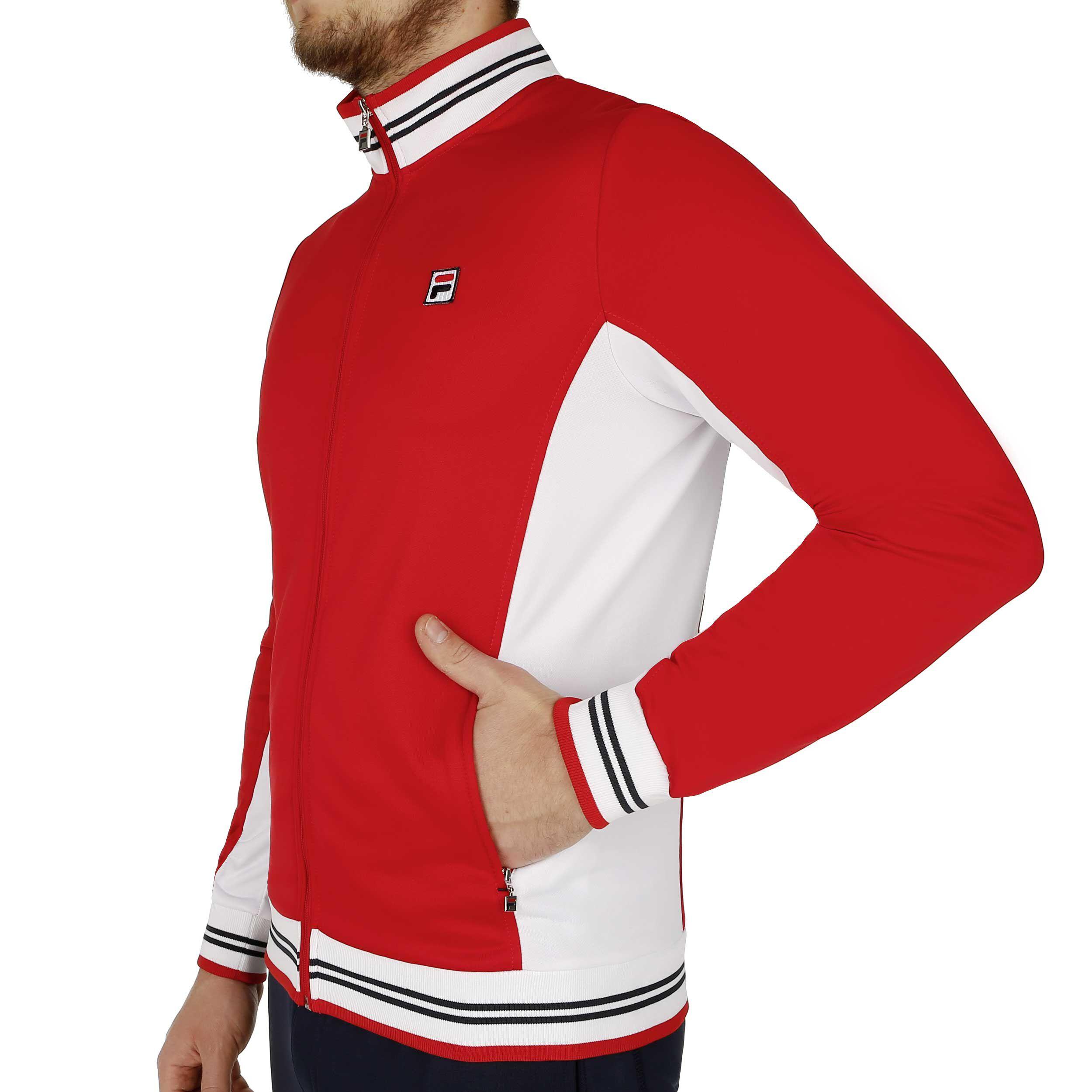 Fila Ole Functional Trainingsjacke Herren Rot, Weiß online
