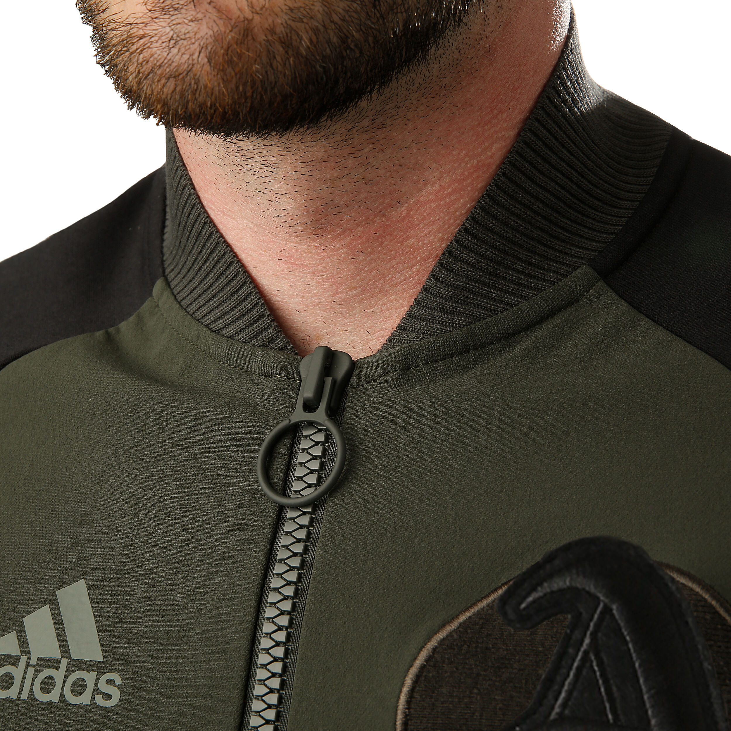 adidas New York City Trainingsjacke Herren Khaki, Schwarz
