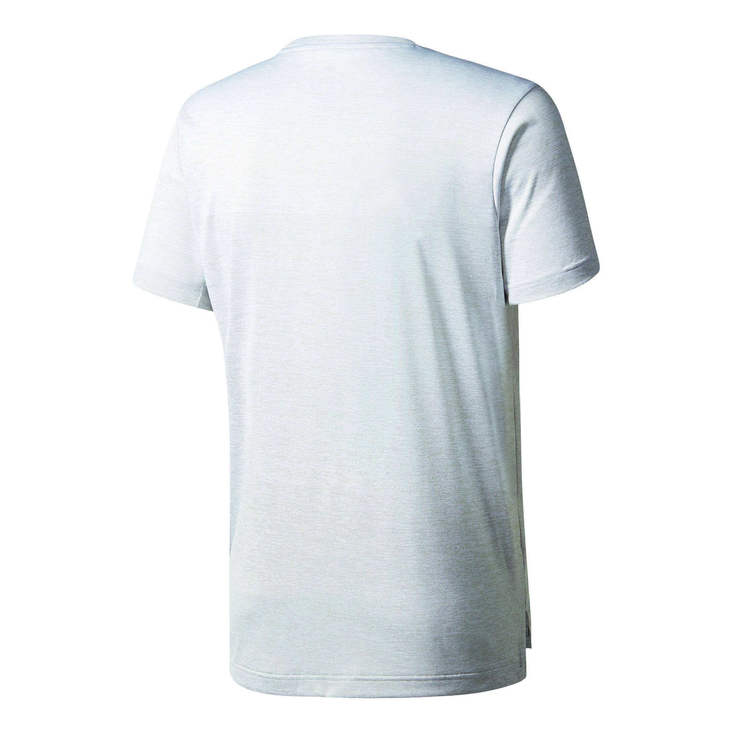 adidas Freelift Grad T Shirt Herren Hellgrau, Schwarz