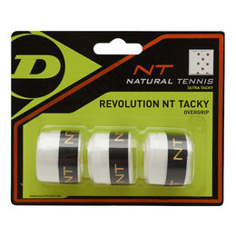 Revolution NT Tacky Overgrip weiß 3er