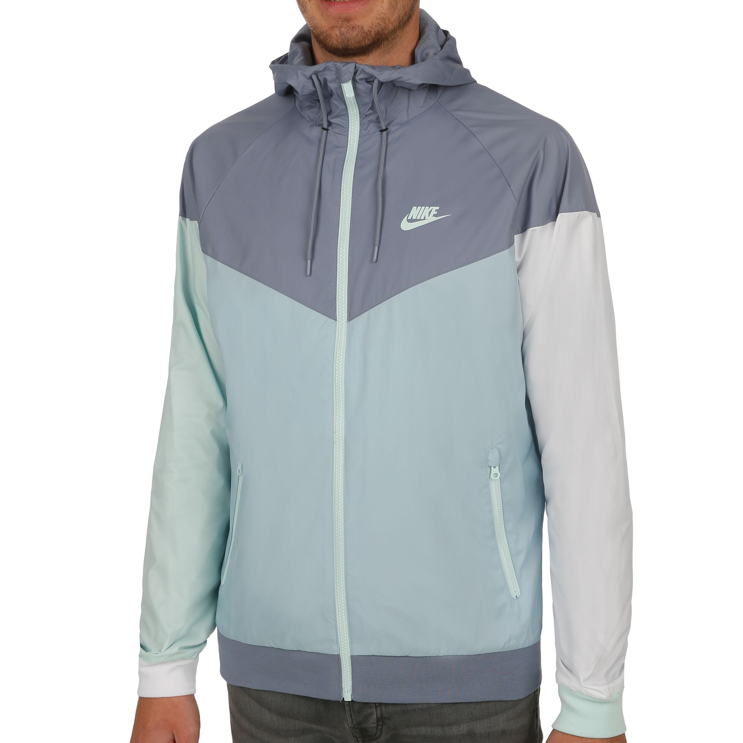Nike Windrunner Trainingsjacke Herren Grau, Mint online