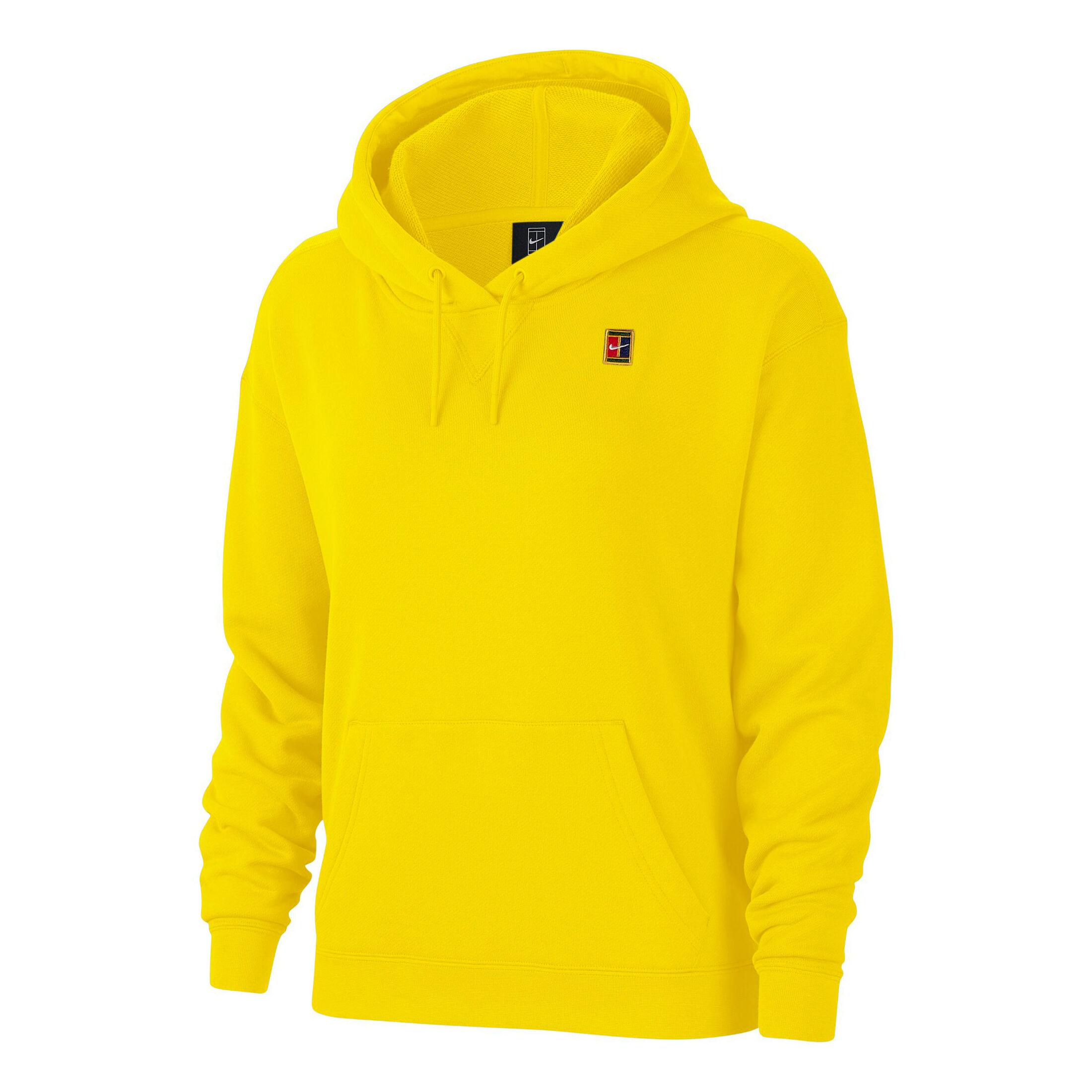 Nike Court Heritage Hoody Damen Gelb, Mehrfarbig