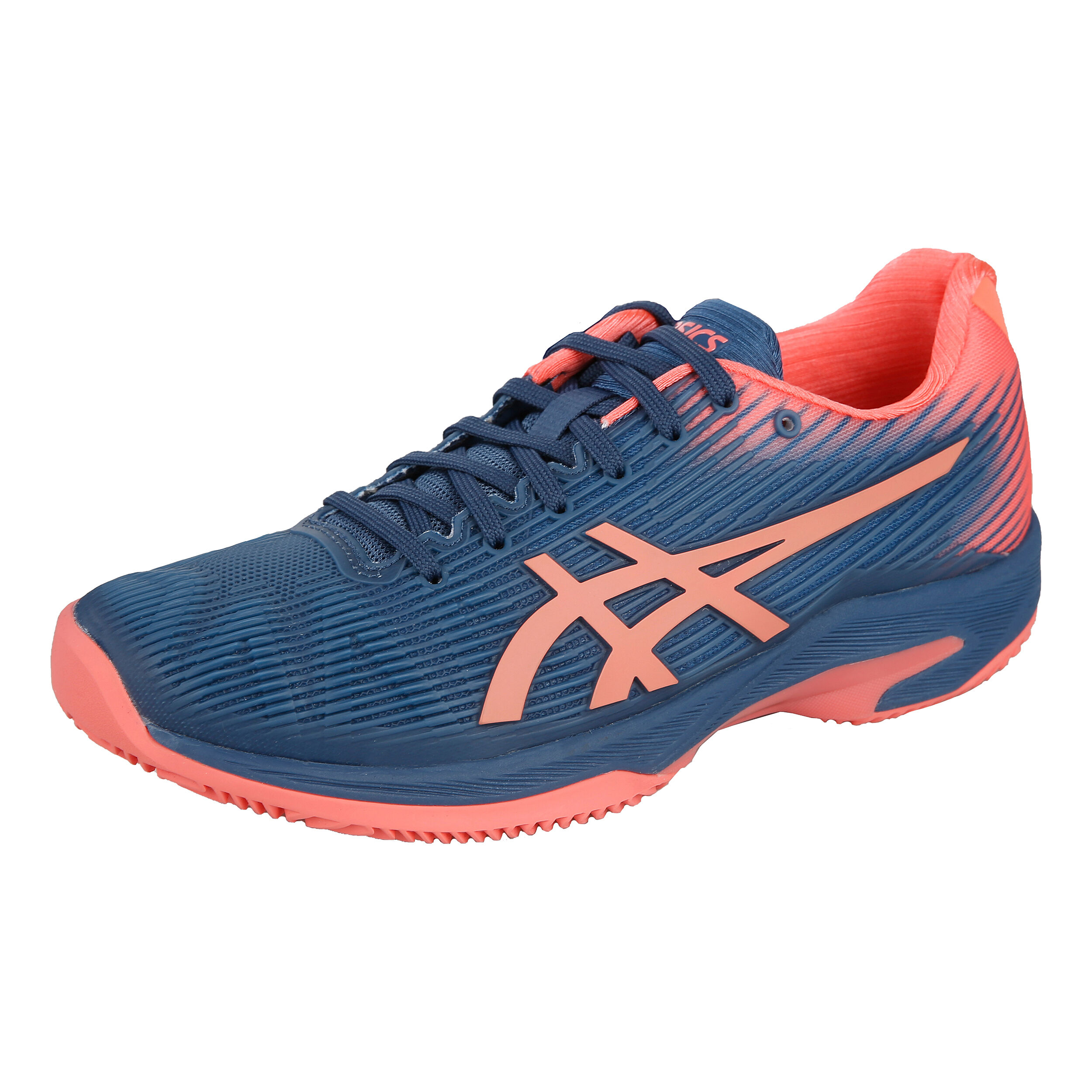 Asics Solution Speed FF Sandplatzschuh Damen - Dunkelblau ...