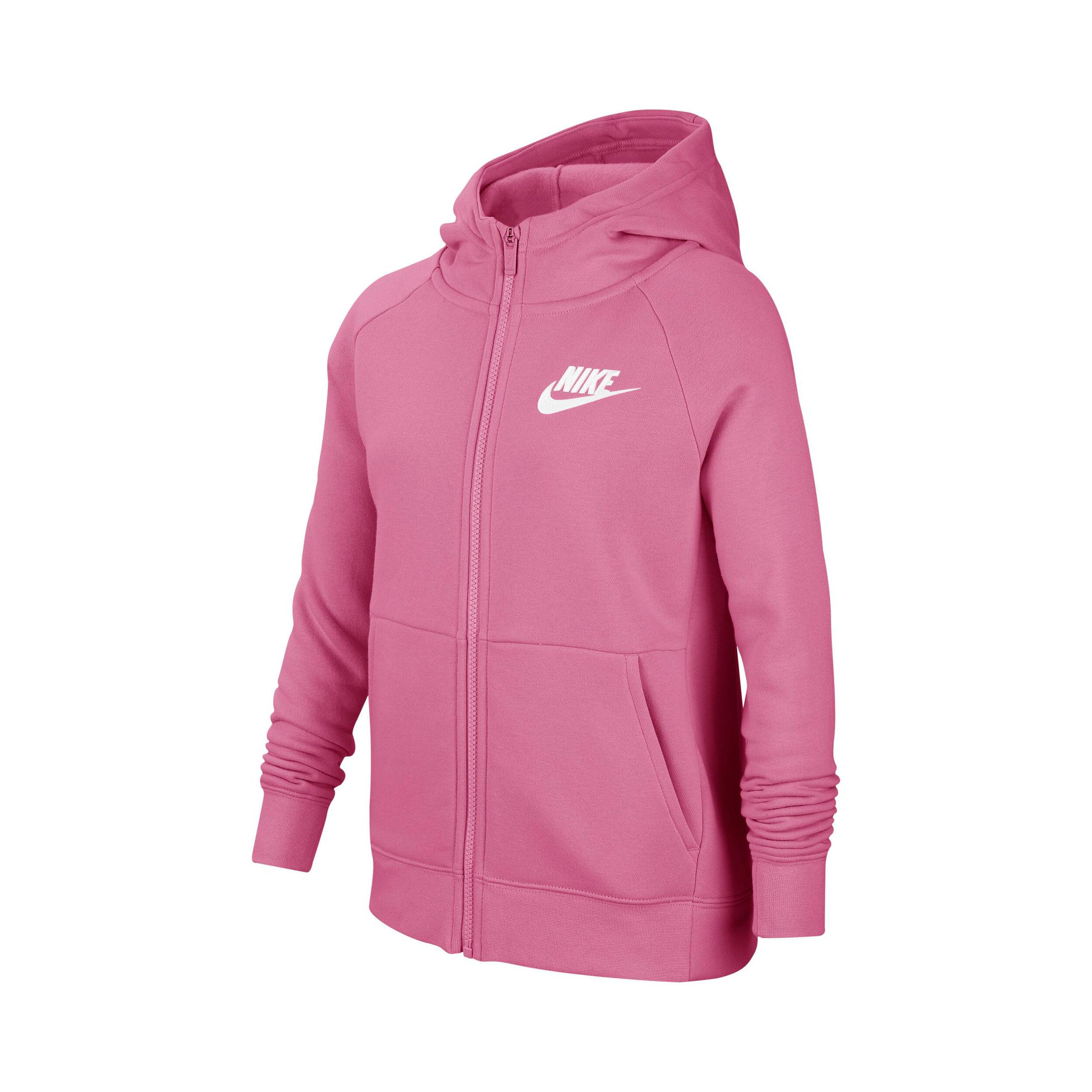 Nike Sportswear Sweatjacke Mädchen Rosa, Weiß