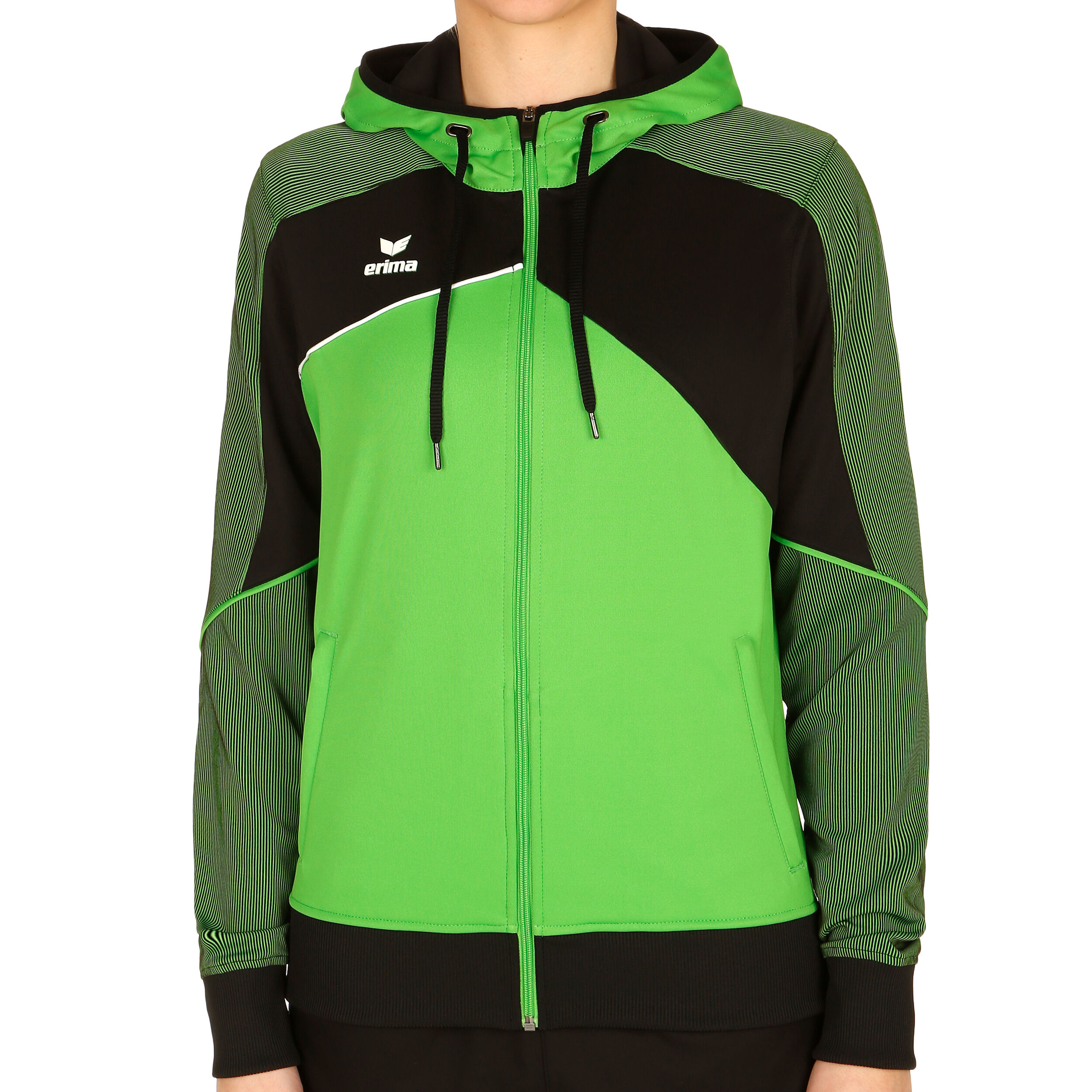 Erima Premium One 2.0 Trainingsjacke Damen Hellgrün