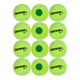 Tennisball Stage 1, Green Dot 12er Beutel