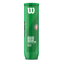 Roland Garros green Ball 4er
