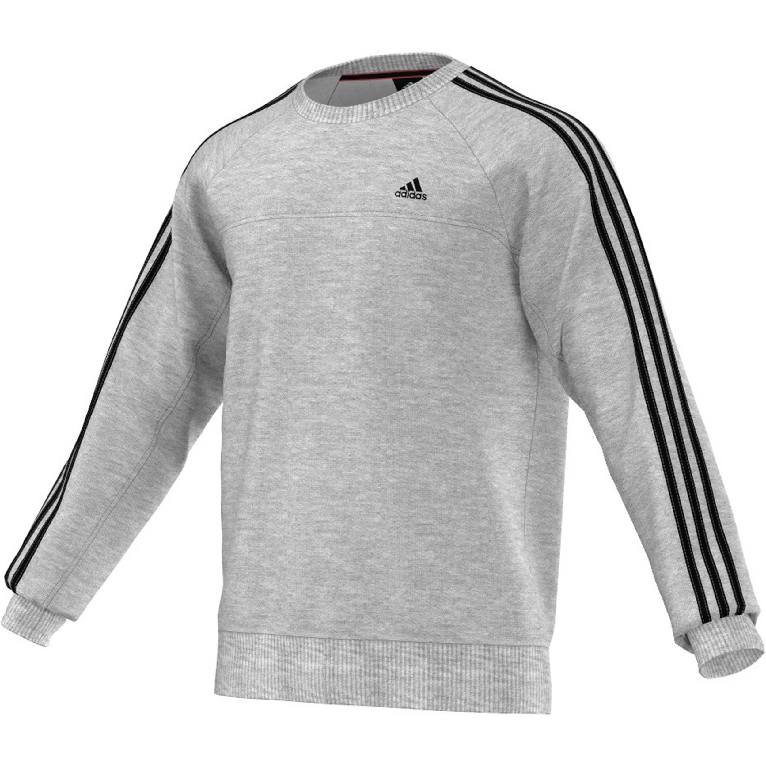 adidas Essentials Essential 3S Crew Sweatshirt Herren