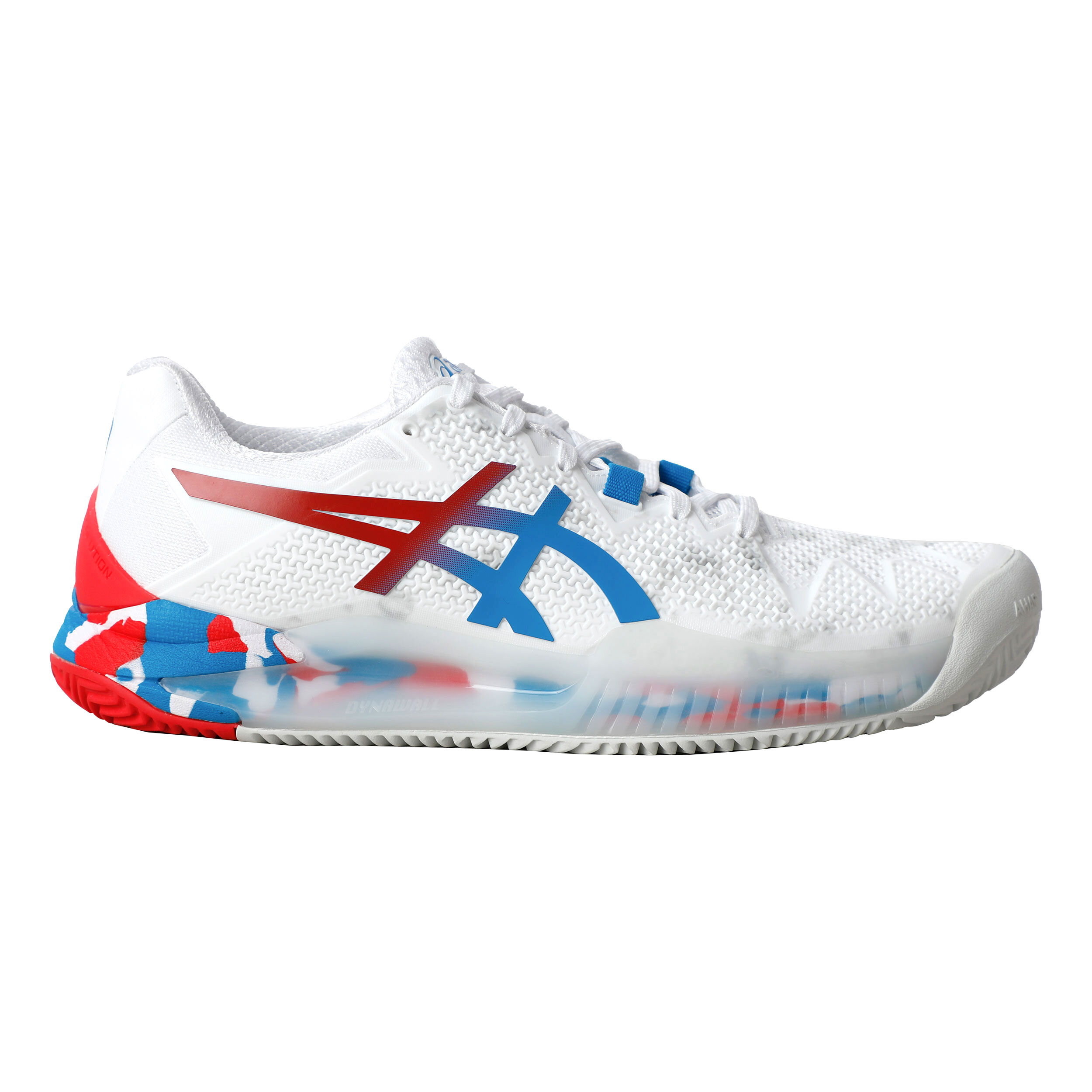 Asics Gel-Resolution 8 L.E. Clay Sandplatzschuh Damen - Weiß ...