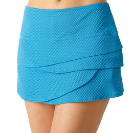 Wavy Scallop Skirt Women
