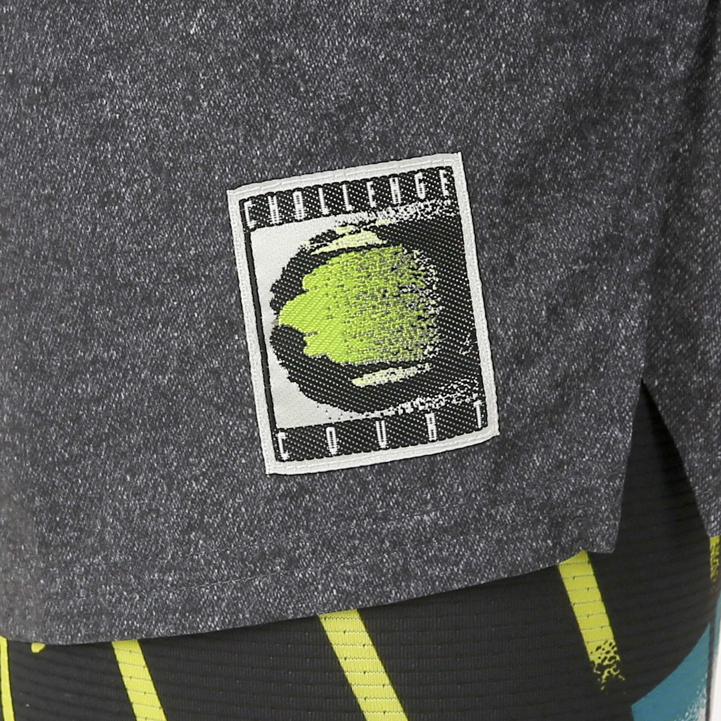 Nike Court Ace Shorts Herren Schwarz, Limette online
